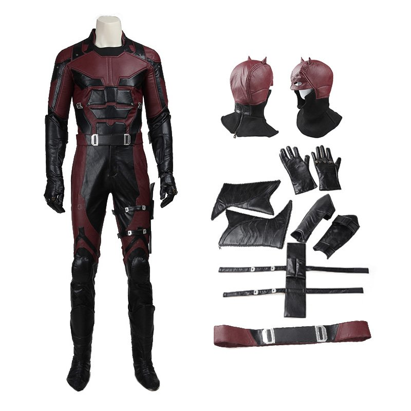 Marvel Superhero Daredevil Matt Murdock Cosplay Costume