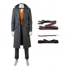 Newt Scamander Costume Fantastic Beasts and Where to Find Them  Cosplay Costume