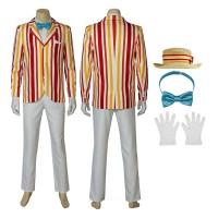 Mary Poppins Costume Bert Mary Poppins Cosplay Costume