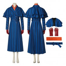 Mary Poppins Costume Mary 2018 Movie Mary Poppins Cosplay Costume