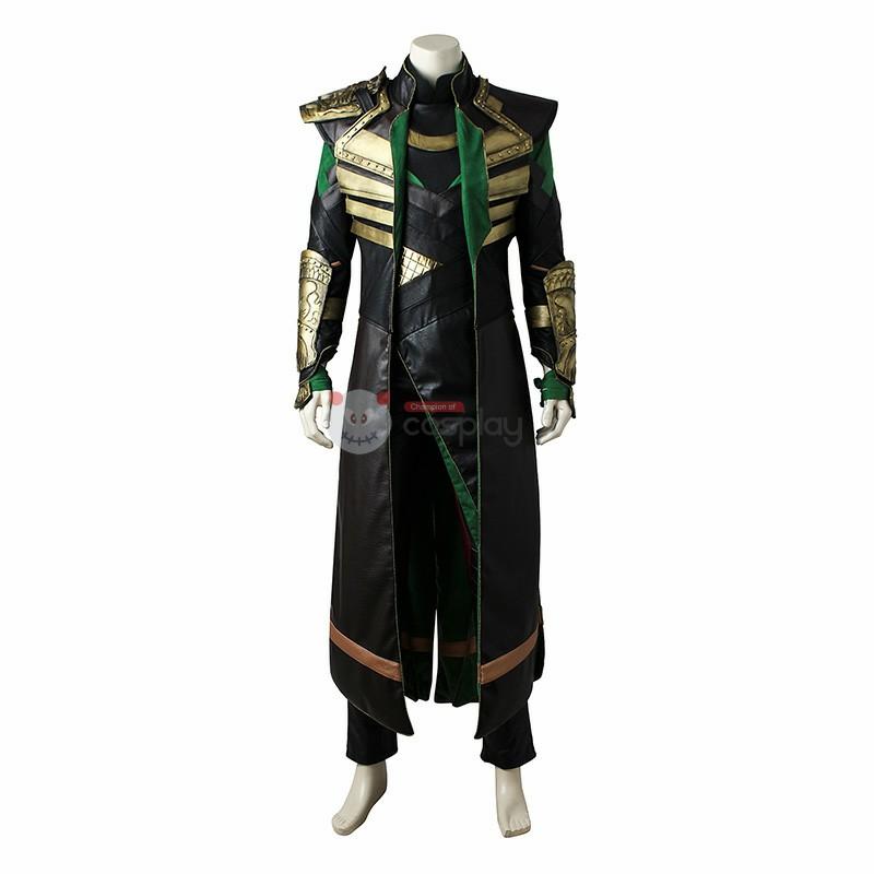 Marvel Movie Thor 2 Dark World Rocky Cosplay Costume