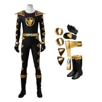 Power Rangers Dino Thunder Black Dino Ranger Tommy Oliver Cosplay Costumes