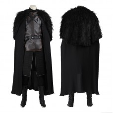 Jon Snow Costume Game Of Thrones A Song Of Ice And Fire Cosplay Costume