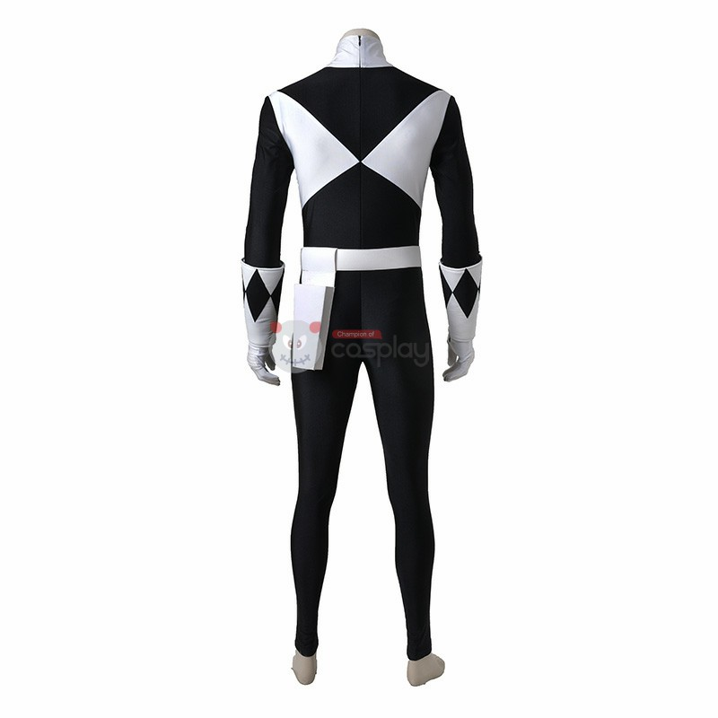 Goushi Mammoth Ranger Costume Black Mighty Morphin' Power Rangers Cosplay Costumes