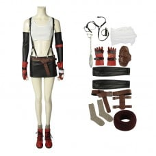 Final Fantasy 7 Costume Remake Tifa Cosplay Costume