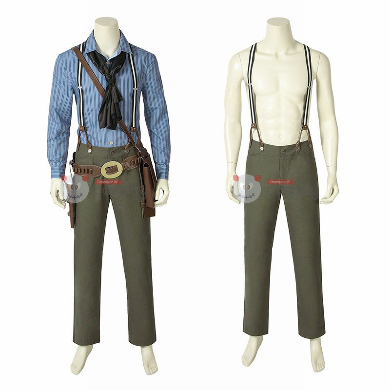 Arthur Morgan Costumes Red Dead Redemption 2 Cosplay Costume