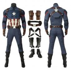 Captain America Costumes Avengers-Endgame Steve Rogers Cosplay Costumes