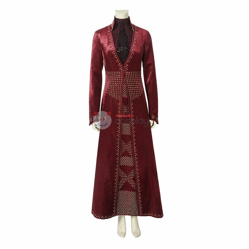 Cersei Lannister Costume Game of Thrones 8 Cosplay Costume
