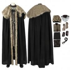 Jon Snow Costume Game of Thrones 8 Jon Snow Cosplay Costume