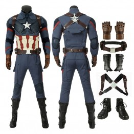 Captain America Costume Improved Version Steve Rogers Cosplay Costumes