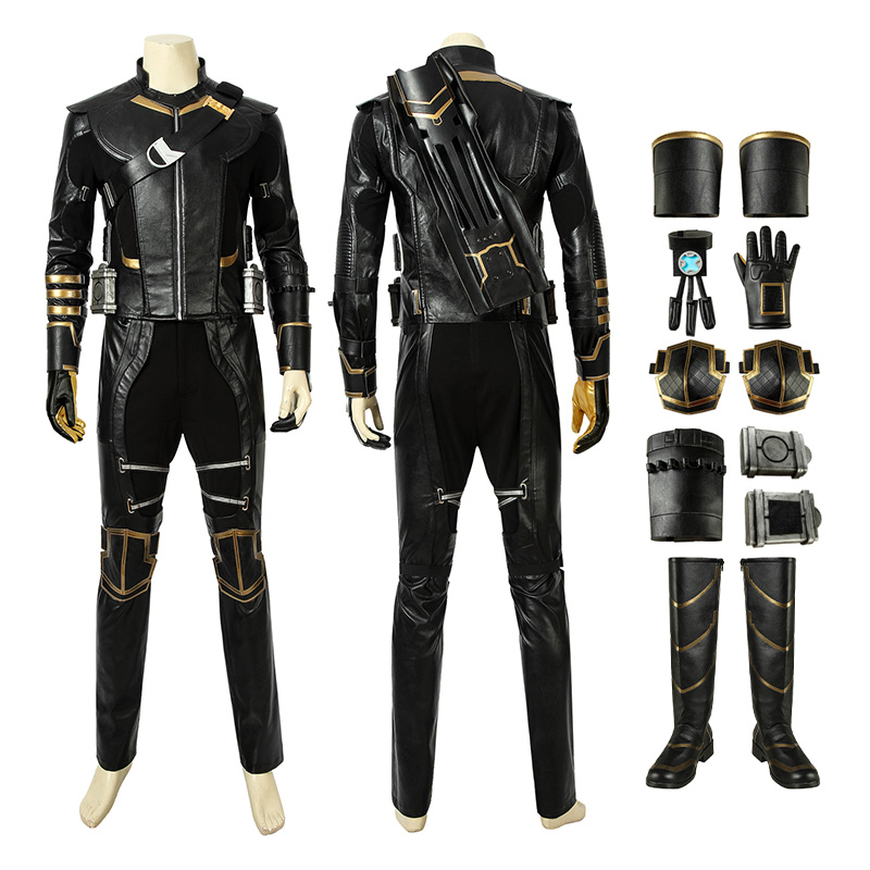 Hawkeye Costume Avengers Endgame Clinton Barton Ronin Warrior Cosplay Costumes
