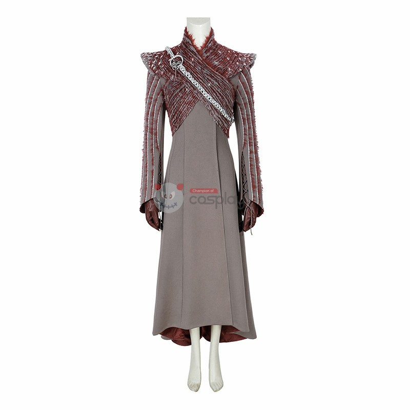 Mother Of Dragons Cosplay Costume Game Of Thrones 8 Daenerys Targaryen Cosplay Costumes