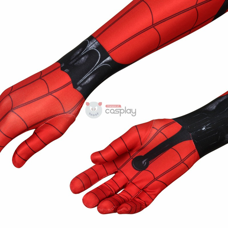 Peter Parker Costumes Spider-Man Far From Home Spider-Man Cosplay Costumes