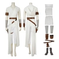 Rey Costume Star Wars 9 The Rise Of Skywalker Rey Cosplay Costume