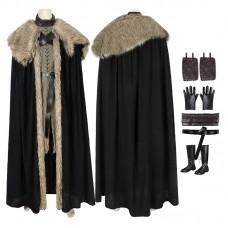Jon Snow Cosplay Costume Game Of Thrones Season 8 Cosplay Costumes