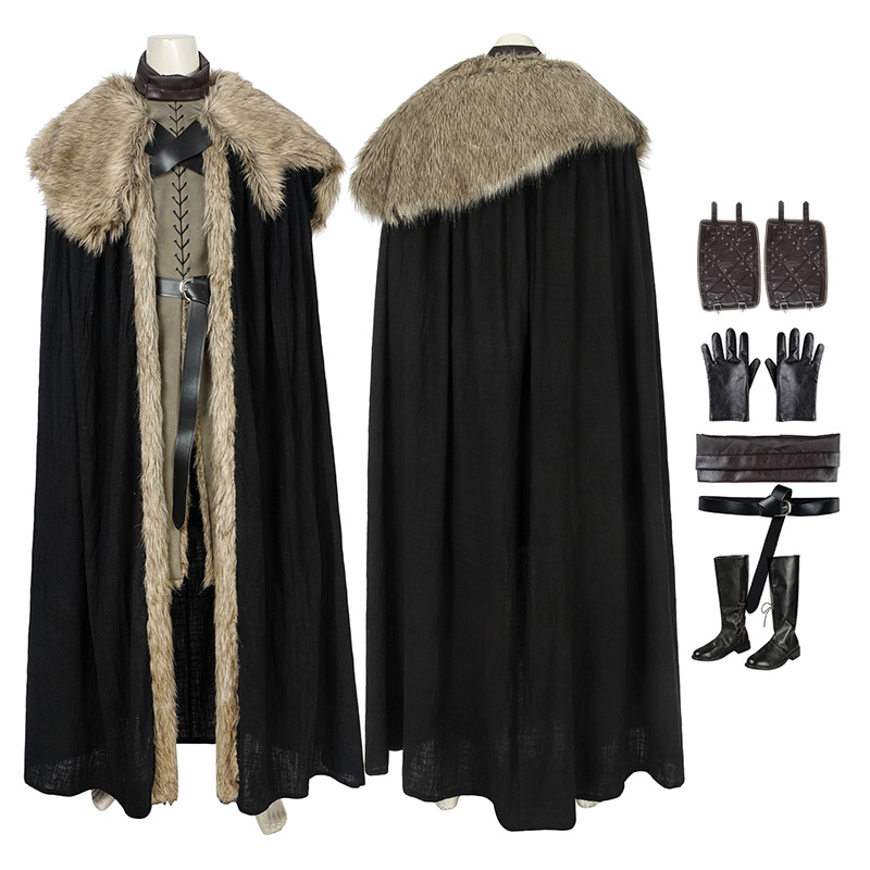 Jon Snow Cosplay Costume Game Of Thrones Season 8 Cosplay Costumes