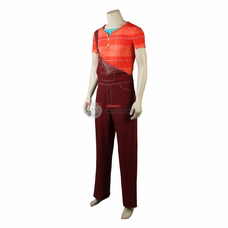 Ralph Costumes Wreck-It Ralph 2 Ralph Cosplay Costumes
