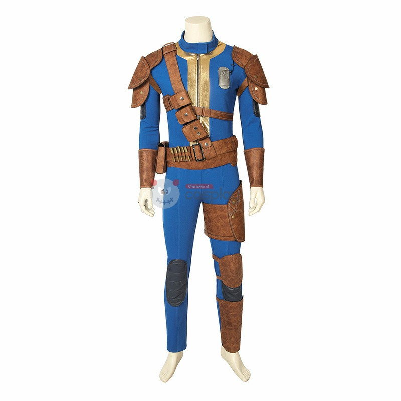 FALLOUT 76 Costume Full Suit Outfit Men Cosplay Costume