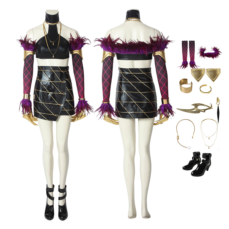 Evelynn Costumes League Of Legends LOL Kda Cosplay Costumes