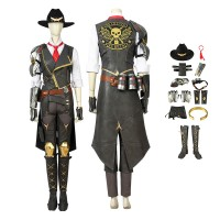 Ashe Costumes Overwatch Cosplay Costumes Full Set