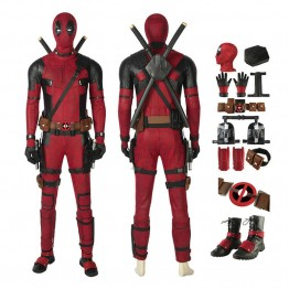 Deadpool 2 Costume Wade Wilson Deadpool Cosplay Costume Full Set