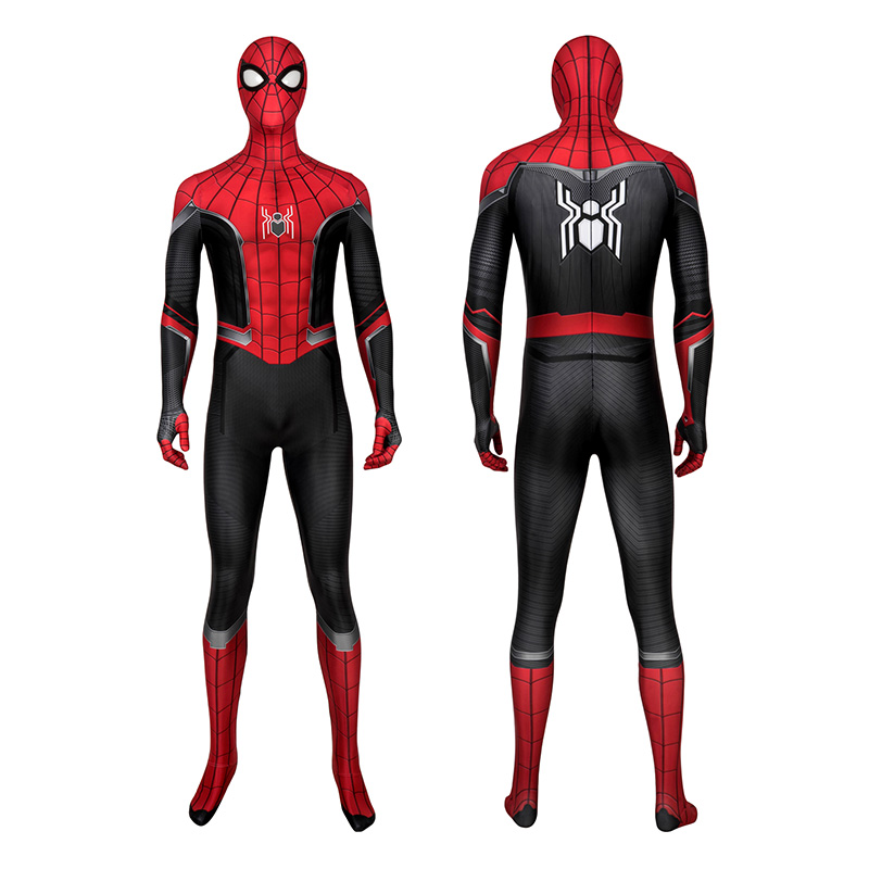 Peter·Parker Costume Spider-Man Far From Home Spiderman Cosplay Costume