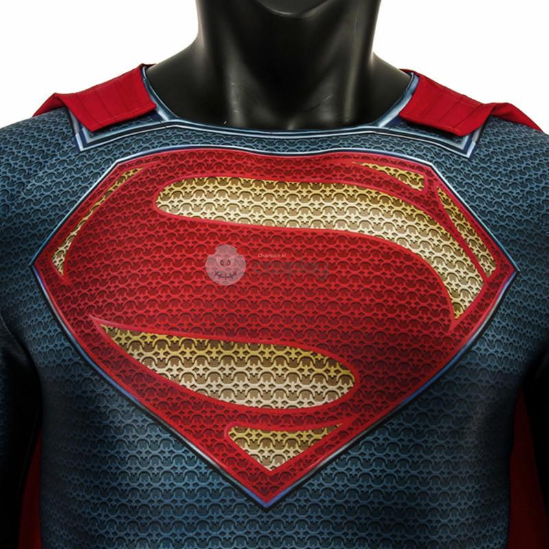 Clark Kent Costume Superman Man Of Steel Superman Cosplay Costume