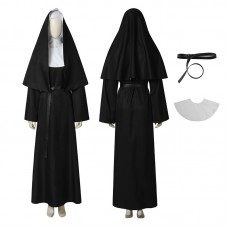Demon Nun Costume The Nun Valak Demon Nun Cosplay Costume