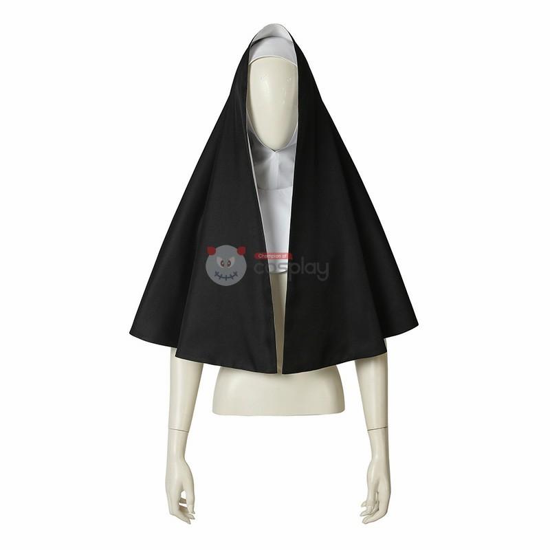 Demon Nun Costume The Nun Valak Demon Nun Cosplay Costume