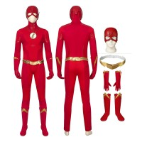 Barry Allen Costumes The Flash 5 Cosplay Costumes