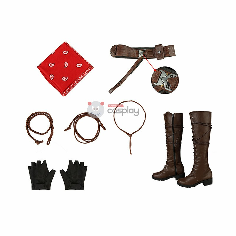 Ruby Roundhouse Costume Jumanji Cosplay Costumes
