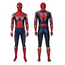 Peter Parker Costume Avengers Endgame Iron Spiderman Cosplay Costume