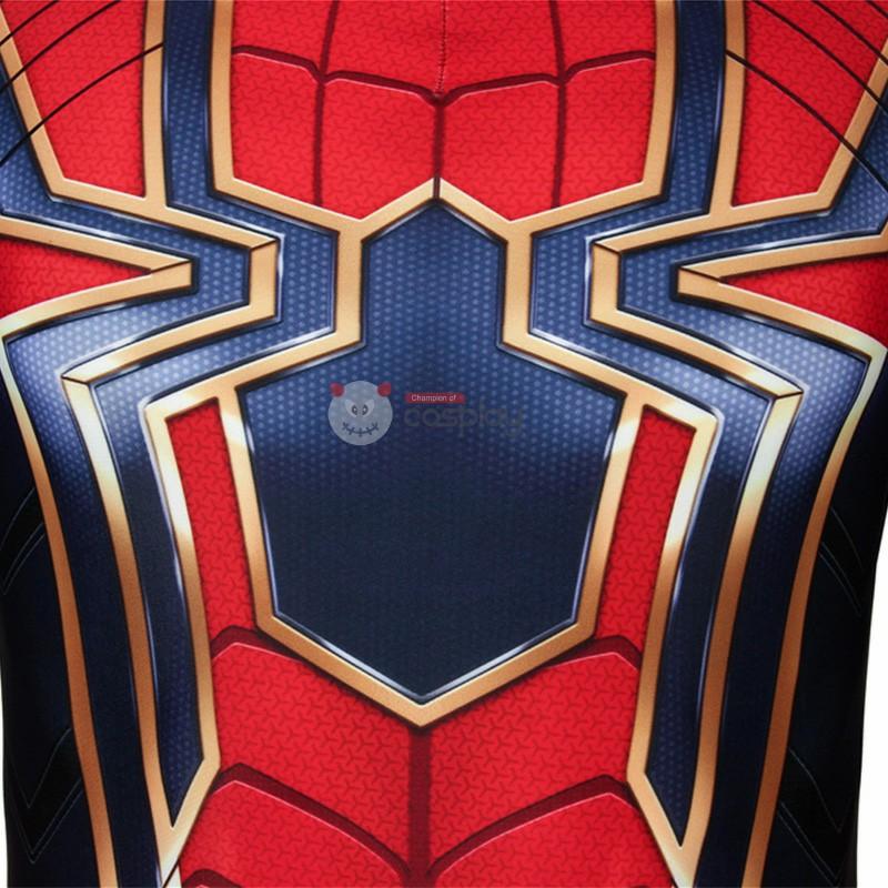 Peter Parker Costume Avengers Endgame Iron Spiderman Cosplay Costume