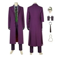 Joker Costume Batman The Dark Knight Rises Costume Cosplay