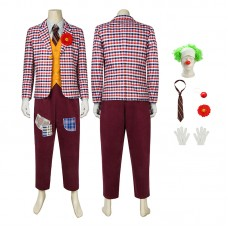Arthur Fleck Costume JOKER 2019 Cosplay Costume