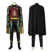 Robin Costume Titans Dick Grayson Cosplay Costume