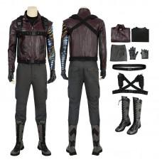 Bucky Barnes Costume The Falcon and the Winter Soldier Bucky Barnes Cosplay Costume