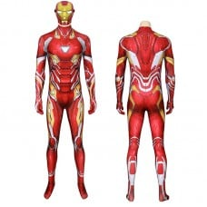 Iron Man Jumpsuit Marvel Avengers Iron Man Tony Stark Cosplay Costume