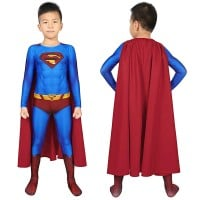 Kids Superman Jumpsuit Superman Returns Superman Clark Kent Cosplay Costume