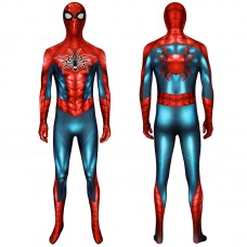Spiderman Jumpsuit Spider Man PS4 Armour MK IV Zentai Cosplay Costume Suit