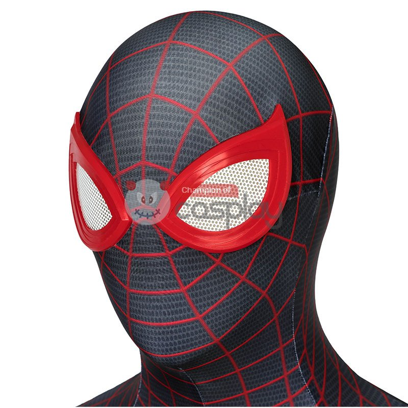 Spiderman Jumpsuit Spider Man PS5 Miles Morales Cosplay Costume