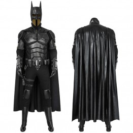 2021 Movie The Batman Robert Pattinson Cosplay Costume