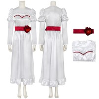Annabelle Dress Halloween Cosplay Costume
