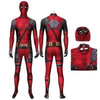 New Deadpool Wade Wilson Jumpsuit Cosplay Costume