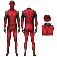 Deadpool Wade Wilson Jumpsuit Cosplay Costume
