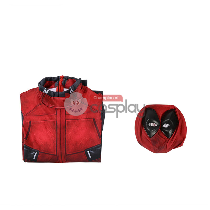 Deadpool Wade Wilson Jumpsuit Cosplay Costume