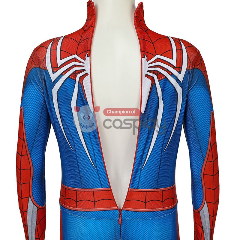 Kids Spiderman Jumpsuit Marvel Spider Man PS4 Cosplay Costume