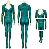 DC Aquaman Cosplay Costume Mera Jumpsuit