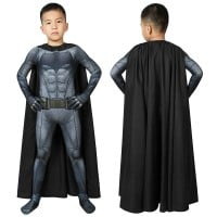 Kids Justice League Batman Cosplay Costume Batman Jumpsuit