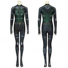 Avengers Infinity War Black Widow Costumes Natasha Romanoff Jumpsuit Cosplay Costume